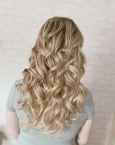 Blonde Bridal Hair, Luxury Hair, Wedding Hairstyles For Long Hair, Girls Life, Hairdresser, Hair Extensions, Bridesmaids, Wedding Day, Curly