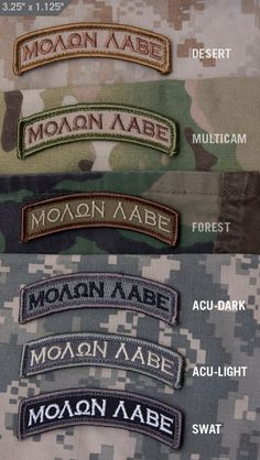 If you don't know what it means check out HEREHook fastener sewn on the back x Tactical Patches, Tactical Gear, Ghost Soldiers, Army Tattoos, Edc Bag, Tactical Equipment, Molon Labe, Tactical Clothing