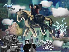 the science of sleep, a film by michel gondry. leading man gael garcia bernal. can't go wrong.