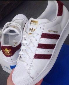 2dd5bcda7ca9 shoes adidas adidas superstars burgundy Adidas Superstar Maroon