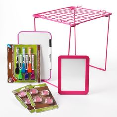 School-pak Locker Organizer Pack good for those girls who like spicing up their locker for school to get motivated to do more stuff.