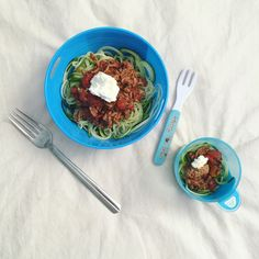 Healthy Spag Bowl with Zoodles
