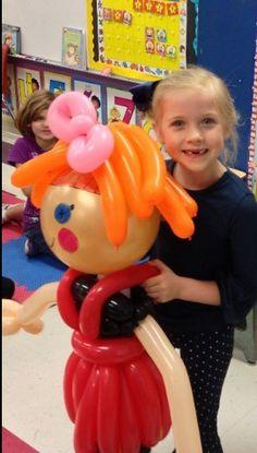 Balloon lalaloopsy. #balloon #art #lalaloopsy