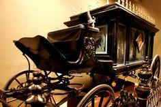Victorian hearse ~ Sayers and Scoville