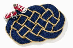 Twisted Rope Coir Mat $34