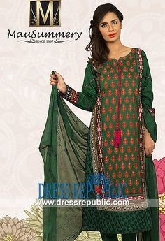Mausummery Eid Line 1 Summer Lawn Suits 2014  Shop Online Mausummery Eid Line 1 Summer Lawn Suits 2014 in New York and New Jersey, USA. Complete Sets in Wholesale Discounted Prices also Available! by www.dressrepublic.com