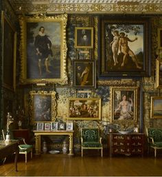 Hatfield House. The King James Drawing Room