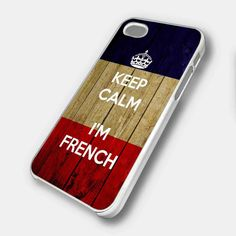 KEEP CALM I'M FRENCH - iPhone 4 Case,