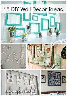 "Wall decor ideas- for when I move into my ""apartment"""