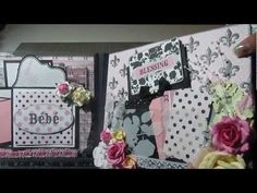 Hey Everyone! I am so excited to share with you my latest mini that was inspired by Kelly (Creativekelly4rmcali) I used the Teresa Collins Bebe Chic Album Kit. I loved creating this album and im so leased with how it turned out. I hope you guys like it.Thanks for watching!