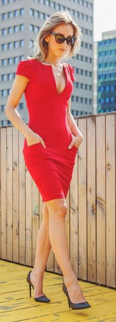 Red Dress Styling