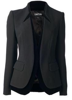 Blazer Alfaiataria com gola em pé inteiriça – DIY – molde, corte e costura – Marlene Mukai Look Blazer, Blazer Jacket, Blazer Dress, Casual Blazer, Leather Jacket, Diy Vetement, Vetement Fashion, Jackett, Mode Outfits