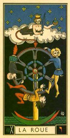 Wheel of Fortune of the Tarot d'Argolance