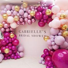 Birthday decorations diy purple bridal shower Ideas for 2019 Diy Birthday Decorations, Girl Baby Shower Decorations, Girl Decor, Birthday Diy, Balloon Decorations, Baby Shower Themes, Birthday Parties, Shower Ideas, Diy Decoration