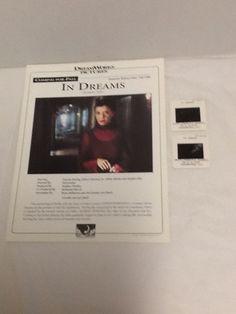In Dreams 2 Slides Annette Bening Robert Downey Jr Press Release 1998