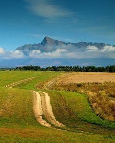 """Tatranská cesta"" by: kvitek ~ Tatra mountains, Slovakia Bratislava, Europe Centrale, Visit Prague, World Travel Guide, Heart Of Europe, Mountain High, Beautiful Places In The World, Central Europe, Mountain Landscape"