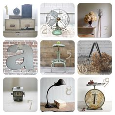 Industrial and Rustic!  Two of my favorite things!