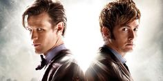 Two Doctors will be materializing in the Big Apple this April. Wizard World comic con organizers announced today that Doctor Who actors David Tennant and Matt Smith would be appearing together for a Day of the Doctors NYC event.