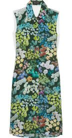 Sophie Hulme Floral-print silk dress