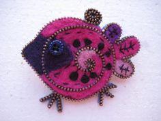 lovely bird Crochet Earrings, Zipper, Bird, Crafts, Jewelry, Manualidades, Jewlery, Jewerly, Birds