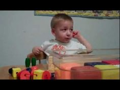 A toddler hearing for the first time. This makes me giggle and cry at the same time.  -H