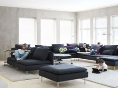 SÖDERHAMN- a sofa designed by you. A modular sofa that fits the way you relax. #IKEA #PinToWin