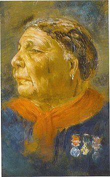 Mary Jane Seacole OM (1805 – 14 May 1881), sometimes known as Mother Seacole or Mary Grant,[4][5] was a Jamaican nurse best known for her involvement in the Crimean War.[5] She set up and operated boarding houses in Panama and the Crimea to assist in her desire to treat the sick. Seacole was taught herbal remedies and folk medicine by her mother, who kept a boarding house for disabled European soldiers and sailors.