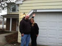 Congrats to first time home buyers Andy & Stephanie on their new home