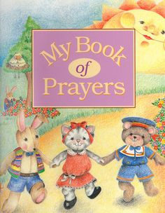 My Book Of Prayers  Personalized Children's by CreationsByFrannie