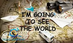 I am going to see the world. #grandcelebrationlive #GCL #GrandCelebrationLive