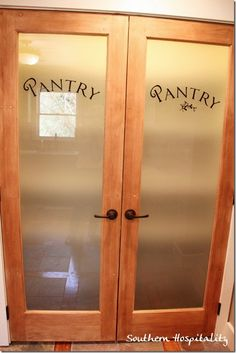1000 Images About Pantry Door Ideas On Pinterest Pantry