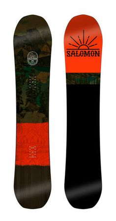 The Super 8 from Salomon Snowboards is a beast of an all mountain board and a huge hit with us here at The Board Basement. With Mid wide width which is actually closer to a wide board for extra float in pow plus a set back stance the super 8 will smash powder with ease. #snowboarding #allmountain #snowboard #salomon