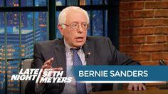 "Bernie Sanders Explains Why ""Socialist"" Isn't a Dirty Word - Late Night ..."