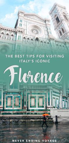 Florence is one of the most iconic places in Italy! Here are some travel tips to make the most of your trip there. #florence #italy
