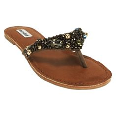 c5eade6e50d1 Not Rated Perfect Glow Beaded Sandal  VonMaur Beaded Sandals