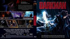 Darkman Blu-ray Custom Cover Cover Design, Crime, Artwork, Movie Posters, Work Of Art, Film Poster, Crime Comics, Book Cover Design, Cover Art
