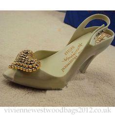 Vivienne Westwood Melissa Shoes Beige VIVI401232903
