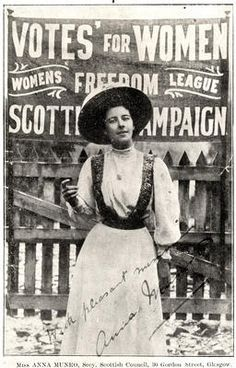 Nothing Elegant: Suffragette Sally