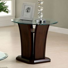 Special Offers - Manhattan Dark Cherry Finish Oval Glass Top End Table - In stock & Free Shipping. You can save more money! Check It (April 24 2016 at 03:18PM) >> http://sofaarmchairusa.net/manhattan-dark-cherry-finish-oval-glass-top-end-table/