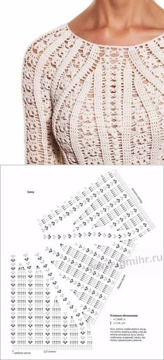 Click Visit link above for more options Learning The Craft Of Crochet Stitches – Love Crochet & Knitting How to Crochet a Bodycon Dress/Top - Crochet Ideas Crochet Bolero, Cardigan Au Crochet, Pull Crochet, Crochet Motifs, Crochet Jacket, Crochet Diagram, Crochet Chart, Crochet Cardigan, Filet Crochet