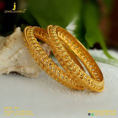 Blean And Shining. Get in touch with us on Gold Kangan, Wedding Jewellery Designs, Kundan Bangles, Gold Temple Jewellery, Gold Mangalsutra, Gold Bangles Design, Gold Jewelry Simple, Gold Ornaments, Jewelry Box