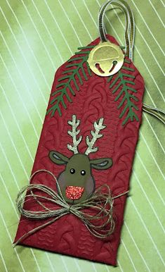 Cathy's Craft Room: Countdown to Christmas Day 24 - Ugly Christmas Sweater Gift Card Holder