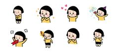 facebook stickers mobile girl: facebook stickers mobile girl
