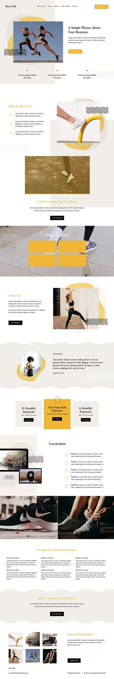 The Club Collective Template is a modern, organic, and robust Squarespace 7.1 Template design crafted specifically for selling your online course or membership.