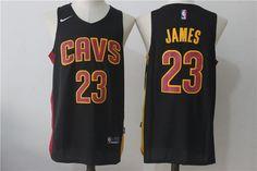 LeBron James  23 Nike Cleveland Cavaliers Alternate Replica Jersey - Navy  Blue James Basketball 534a3525e2b1