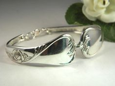 Remember spoon rings? Beautiful bracelet!