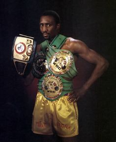 Boxing Champ- Tommy Hearns
