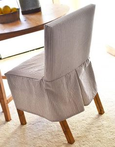 DIY slipcover pattern