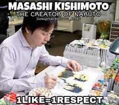 Masashi Kishimoto ♡ Thanks for Creating Naruto ^^