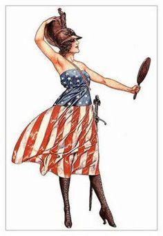 LIBERTY American Spirit, American Pride, American History, American Girl, American Flag, Art Deco Posters, Vintage Posters, Vintage Art, French Posters
